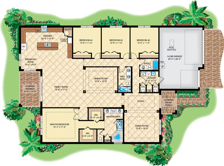 Hierro naples florida architectural renderings building for Floor plans for real estate marketing